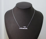 Africa Skyline Necklace, Safari Necklace, wild animal Necklace