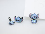 Cute Disney characters earrings, Lilo and Stitch Ear jackets earrings
