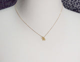 cute and unique robot pendant necklace( gold /silver)