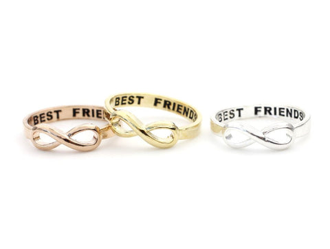 BEST FRIEND Infinity Ring 3 Colors