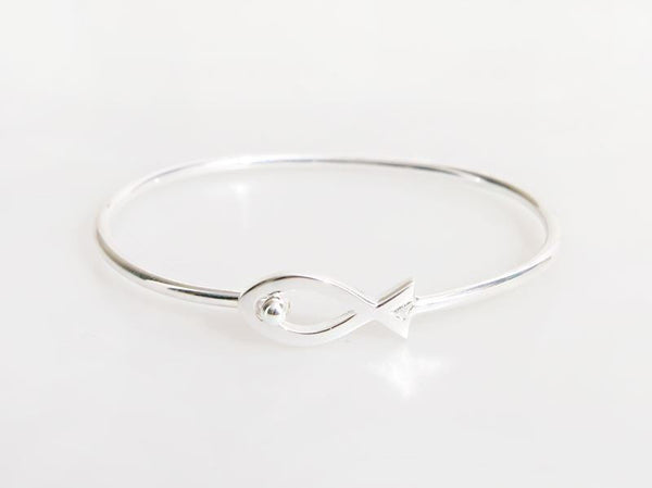 sevilla bangles silver hinged hsn d products classic clasp bangle bracelet