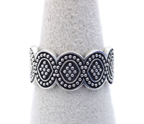 925 sterling silver Artisan Lace Ring