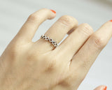 925 sterling silver little Stars Ring