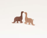 Dino Dinosaur Stud Earrings in Gold / Silver / Pink Gold(925 sterling silver/plated over Brass)