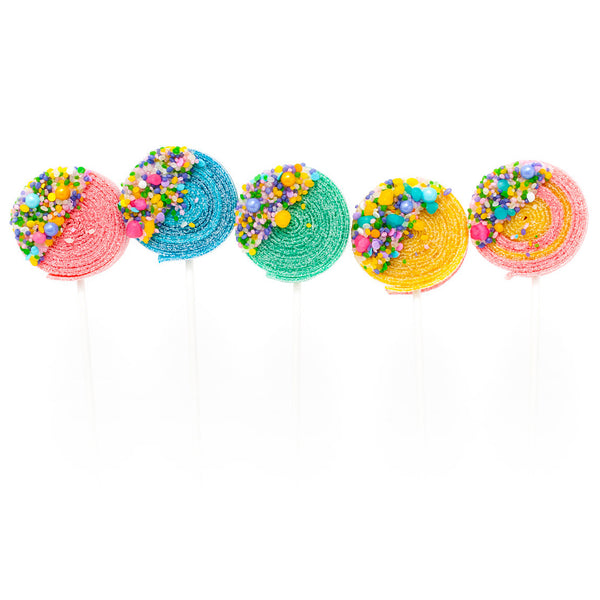 Birthday Cake Candyfetti™ Sour Lolli's - 6qty