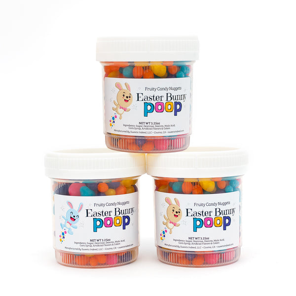 Easter Bunny Candy Poop 3-Pack