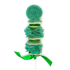 green candy kabob