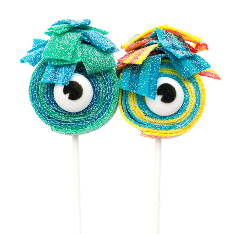 monster eye sour lollies