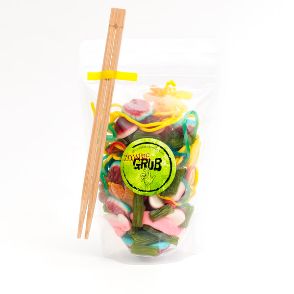 zombie grub gummy candy