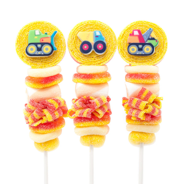 Construction Truck Candy Kabobs - 6qty