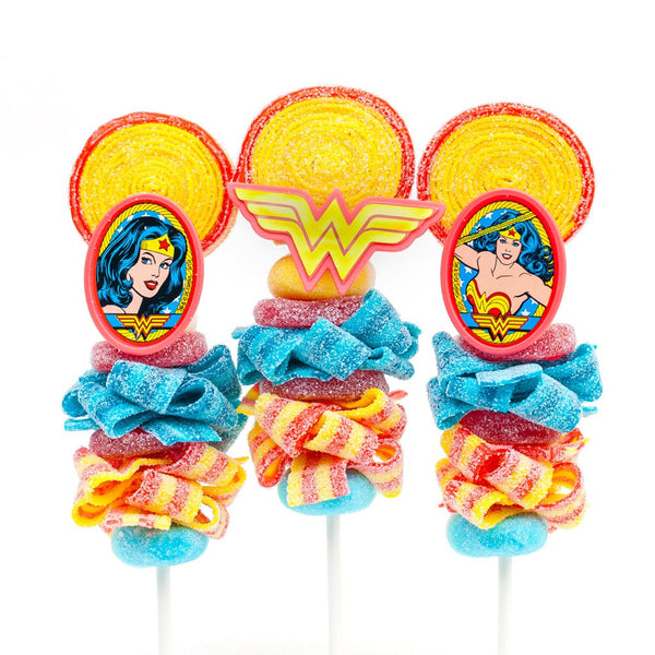 Wonder Woman Candy Kabobs - 6qty