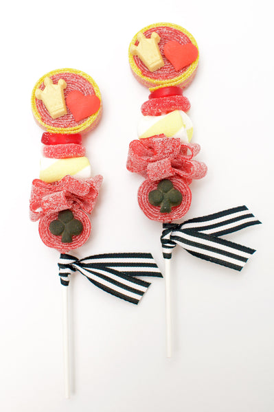 Queen of Hearts Candy Kabobs - 6qty