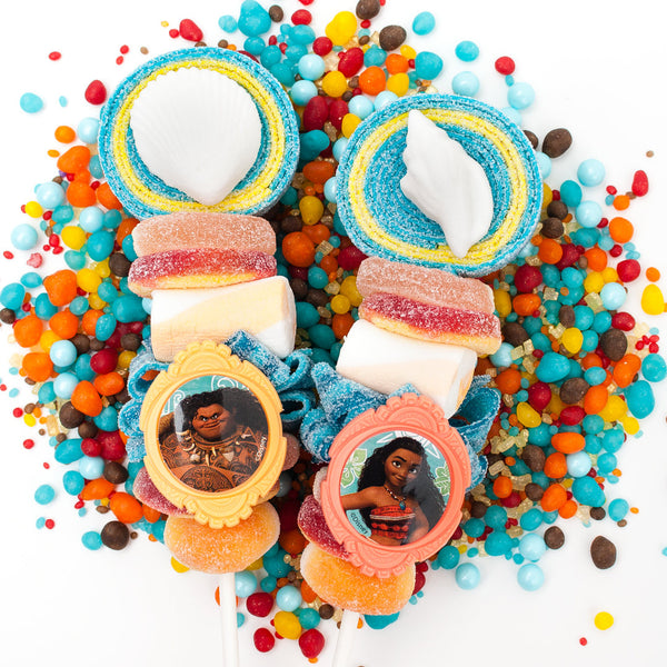 Moana themed Candy Kabobs - 6qty