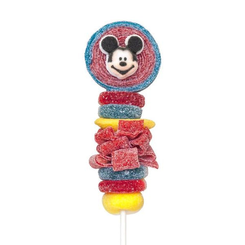 Mickey Mouse Candy Kabobs - 6qty