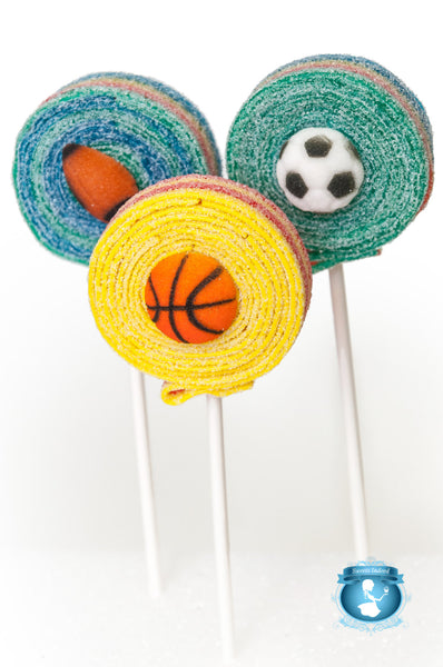 Sports Sour Lolli's - 6qty