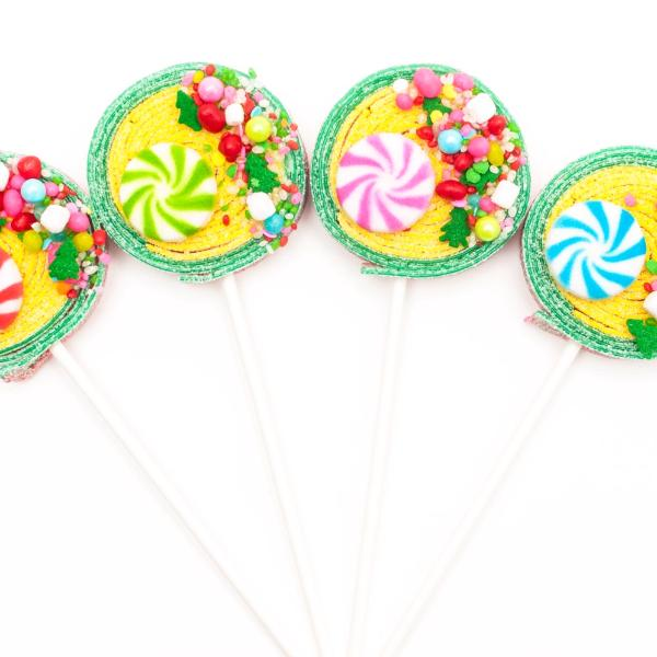 candyfetti holiday sour lolli