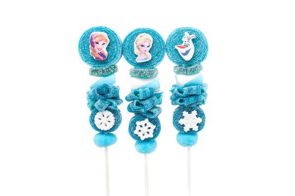 Frozen Themed Candy Kabobs - 6qty