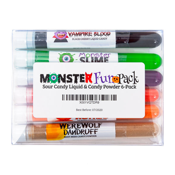 Monster Fun Candy 6-Pack