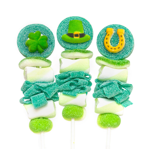 St. Patrick's Day Candy Kabobs - 6qty