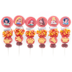 princess candy kabobs