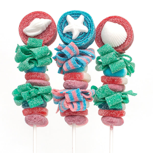 Seashell Beach Candy Kabobs - 6qty