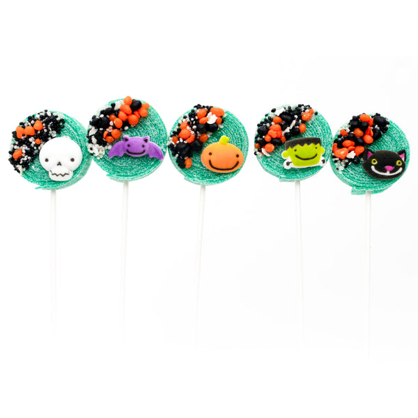 spooky candy kabobs