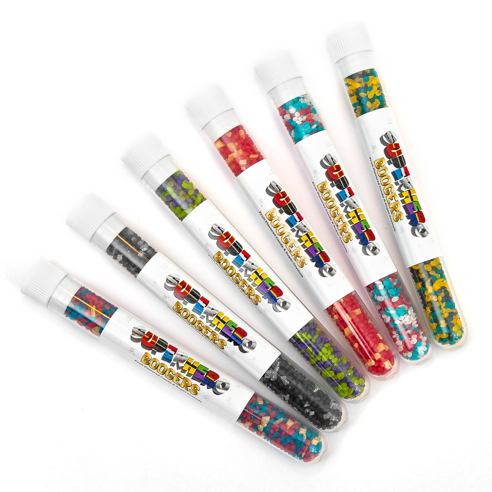 Superhero Boogers 6-Pack | Sweets Indeed