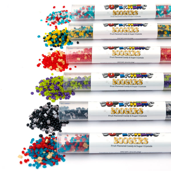 Superhero Boogers 6-Pack
