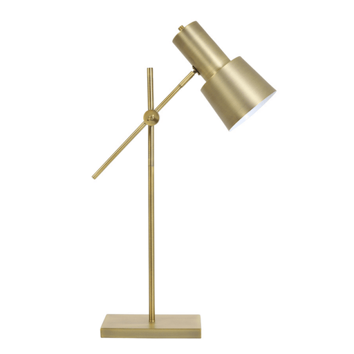 Light & Living Tafellamp Bureaulamp PRESTON antiek brons - ThatLyfeStyle