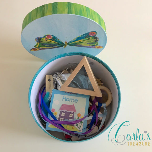 Sensory treasure box / treasure basket
