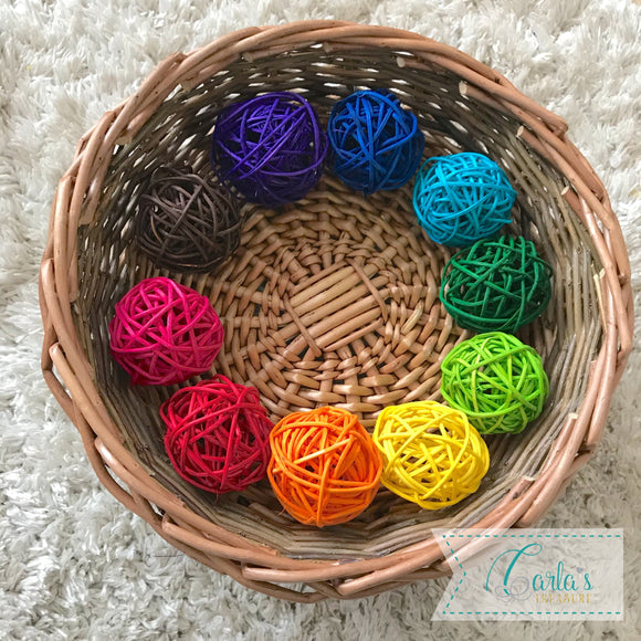 Montessori Themed Sensory Basket