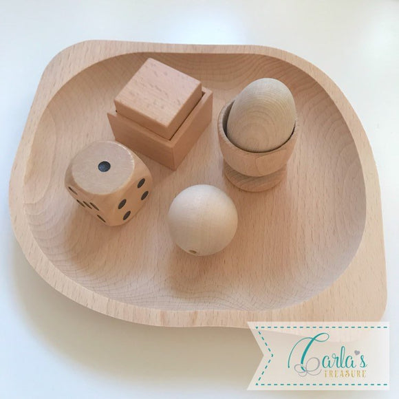 Montessori 3D Fitting Exercise set