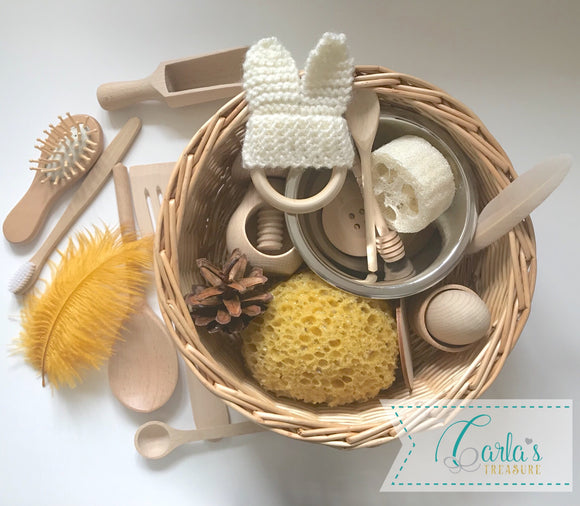 Carla's Treasure Sensory Basket