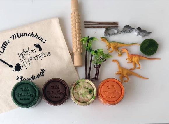 Dinosaur Busy Bag / Playdough Set