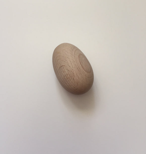 Individual Wooden Egg