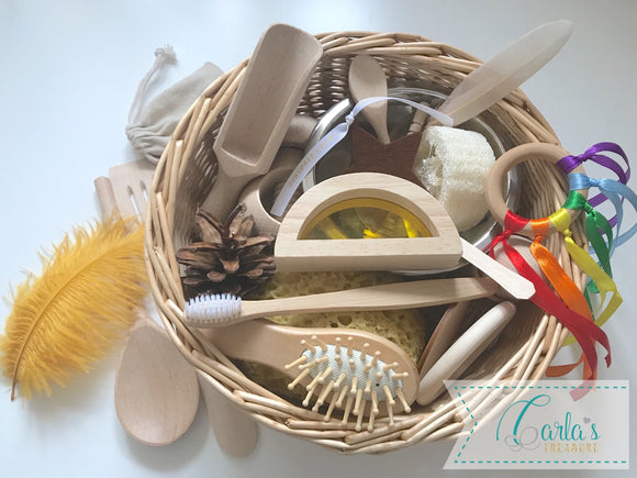Carla's Treasure Sensory Baskets