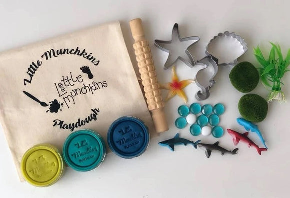 Under The Sea Busy Bag / Playdough Set