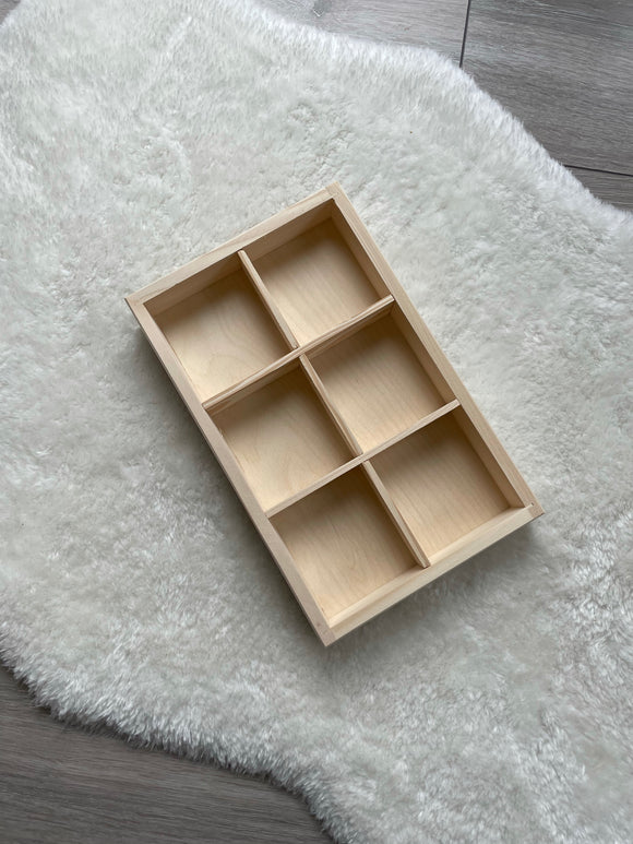 Tinker tray / 6 compartments