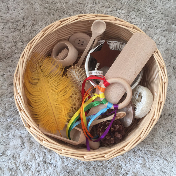 Carla's Treasure Heuristic Basket