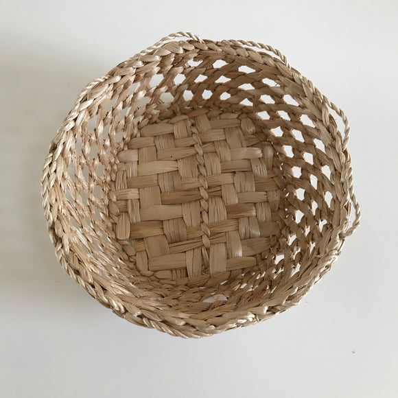 Braided Small Basket