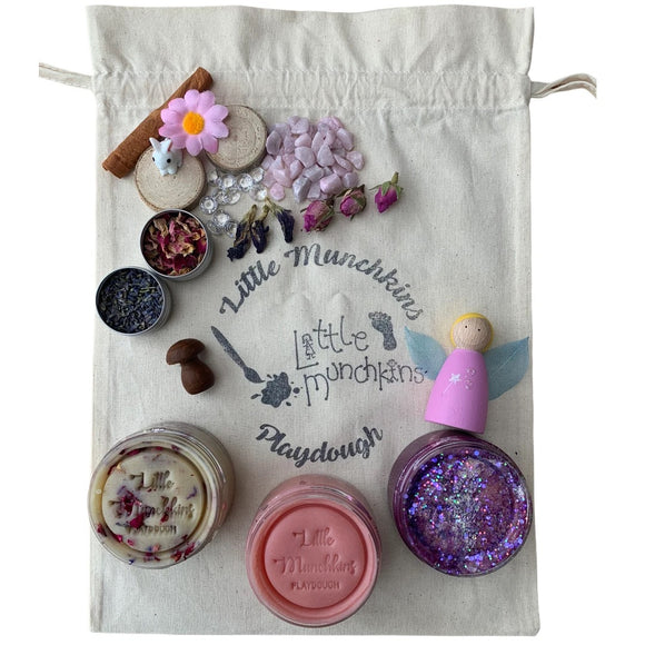 Fairy Garden Busy Bag / Playdough Set