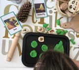 Wooden nature stamps