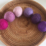 Wool Balls 5cmD / Set of 6