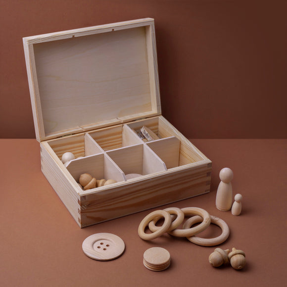 Tinker Box / Loose parts play set