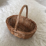 Oval Mini Shopper / Children picnic basket