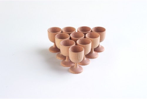 Wooden Egg Cup 70mm - 1 piece