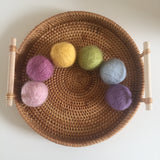 Pastel Wool Balls / Set of 6 / 5cmD