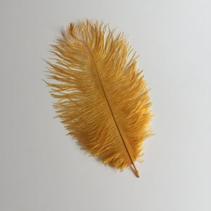 Large Sensory Gold Feather - 1 piece