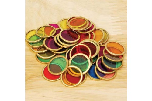Metal Counting Chips - 100pcs