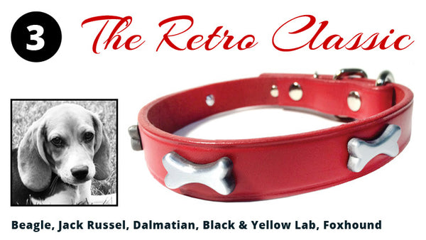 The Retro Classic Dog Collar